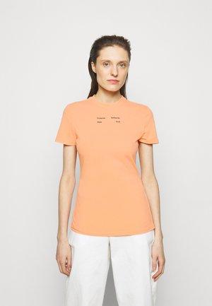 SOLID STRETCH - T-shirt print - apricot