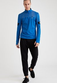 DeFacto Fit - Long sleeved top - blue - 1