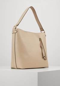Pieces - PCCULA CROSS BODY  - Handbag - beige/gold - 3