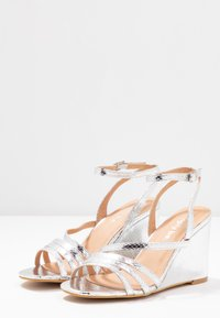 Simply Be - WIDE FIT AVA - High heeled sandals - silver - 4