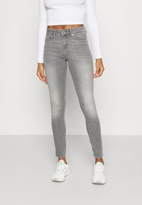 ONLY - ONLANNE MID SKINNY - Jeans Skinny Fit - grey denim - 0