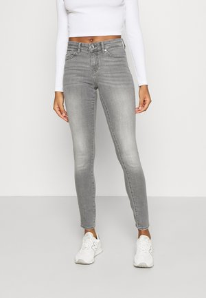 ONLANNE MID SKINNY - Jeansy Skinny Fit - grey denim