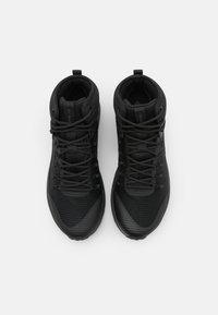 Columbia - TRAILSTORM MID WATERPROOF - Hiking shoes - black/dark grey - 3