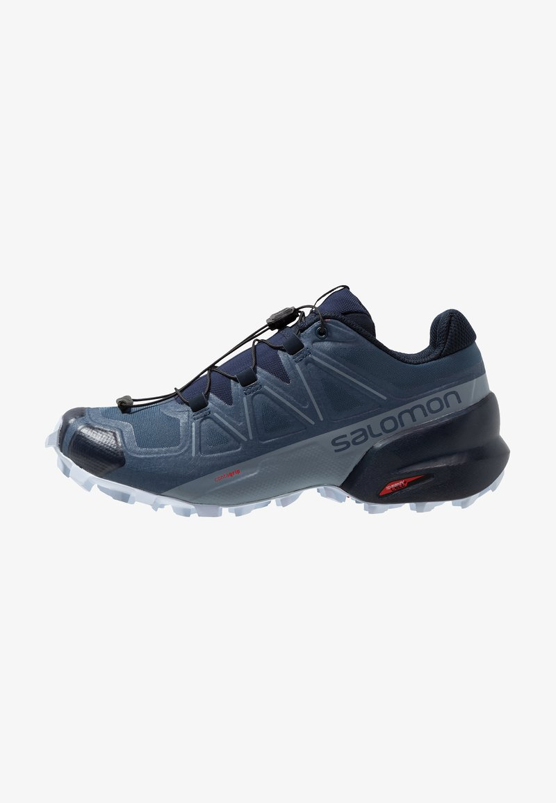 Salomon - SPEEDCROSS 5 - Trail running shoes - sargasso sea/navy blazer/heather