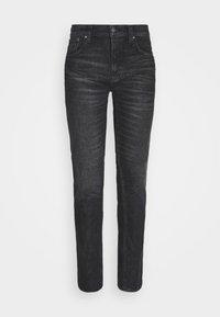 Nudie Jeans - GRIM TIM - Džíny Slim Fit - black pixel - 5