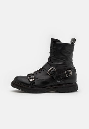 REPUNK - Cowboy/biker ankle boot - nero