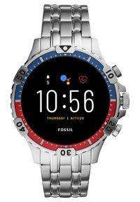 Fossil Smartwatches - GARRETT HR - Smartwatch - silver - 0