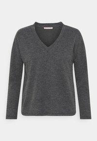 Anna Field - Langærmede T-shirts - mottled grey - 0