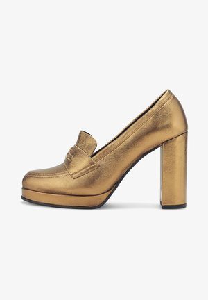POLISHED - High heels - gold