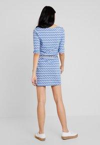 Ragwear - TANYA ZIG ZAG - Jersey dress - blue - 3