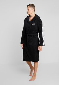 Kappa - VARDAGEN - Dressing gown - caviar - 0