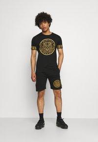 Brave Soul - LION SET  - Shorts - black - 1