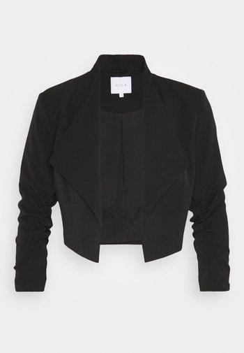 VIHER CROPPED - Blazer - black