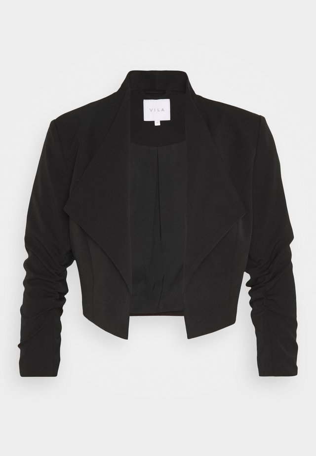 VIHER CROPPED - Blazer - black