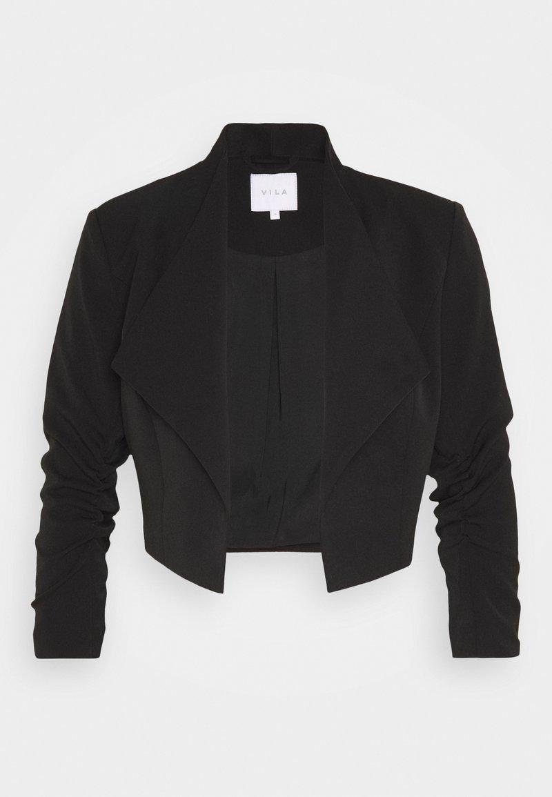 Vila - VIHER CROPPED - Blazer - black