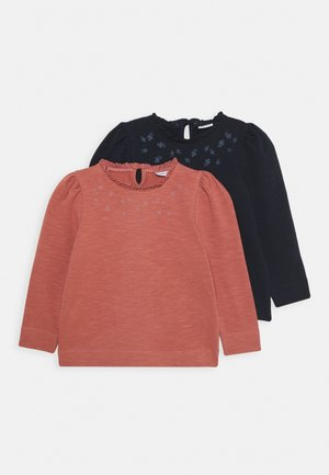 NMFTHURA CAMP 2 PACK - Sweatshirt - dark sapphire/withered rose