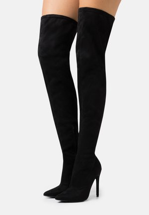 STILETTO LONG BOOT - High heeled boots - black