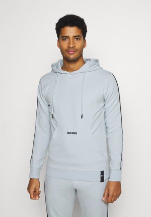 SPORT SUIT HOOD - Tuta - dusty blue