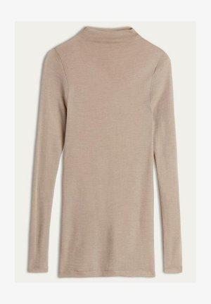 Sweatshirt - natürlich beige