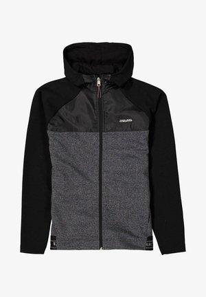 Sweater met rits - schwarz