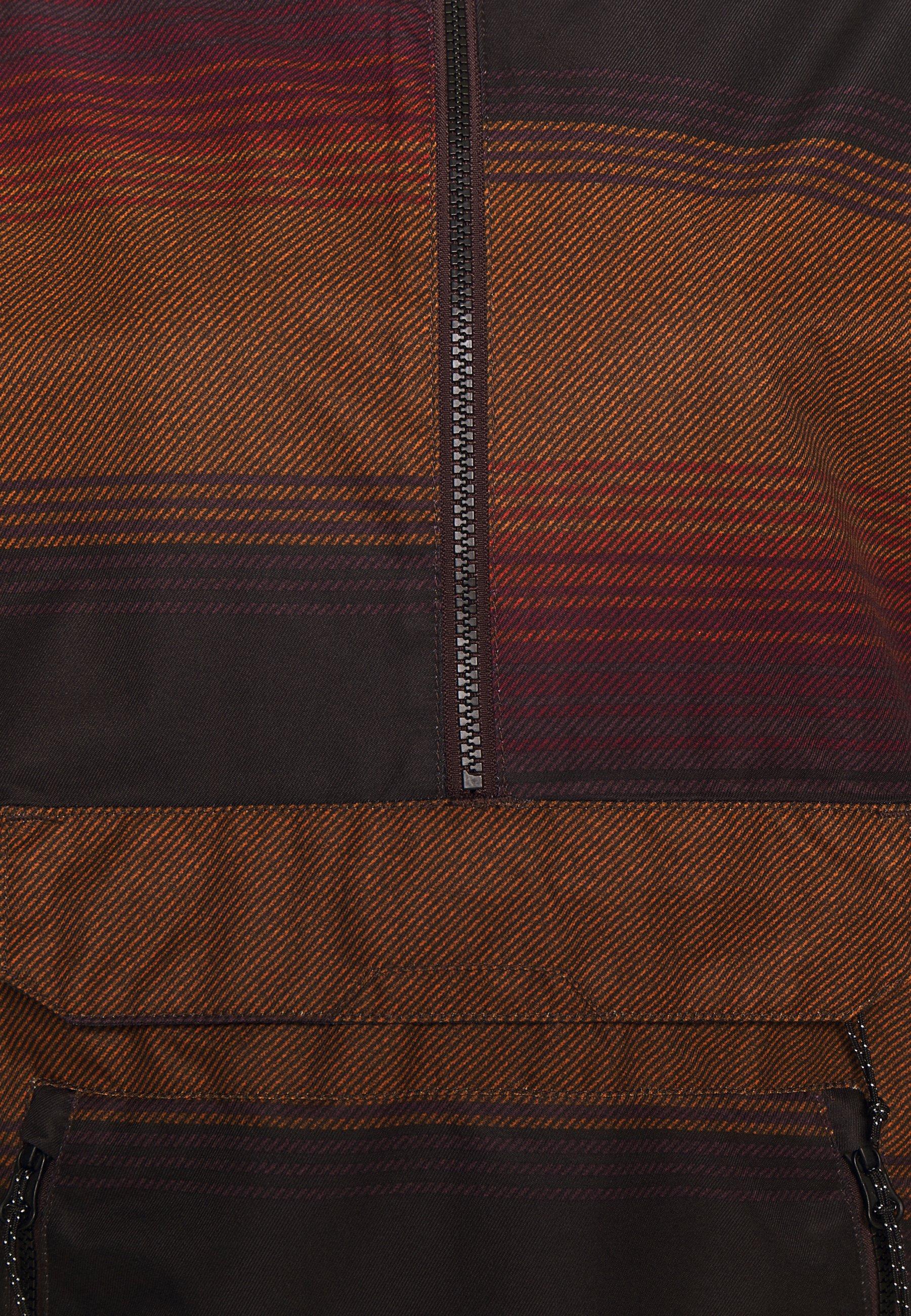 Volcom MIRROR PULLOVER - Snowboard jacket - dark red 5Xvf5