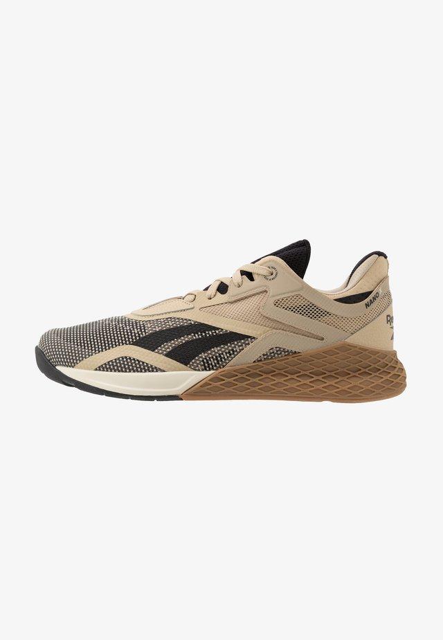 NANO X - Sports shoes - utility beige/black/alabaster