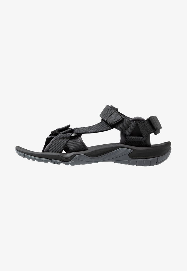 LAKEWOOD RIDE - Outdoorsandalen - ebony