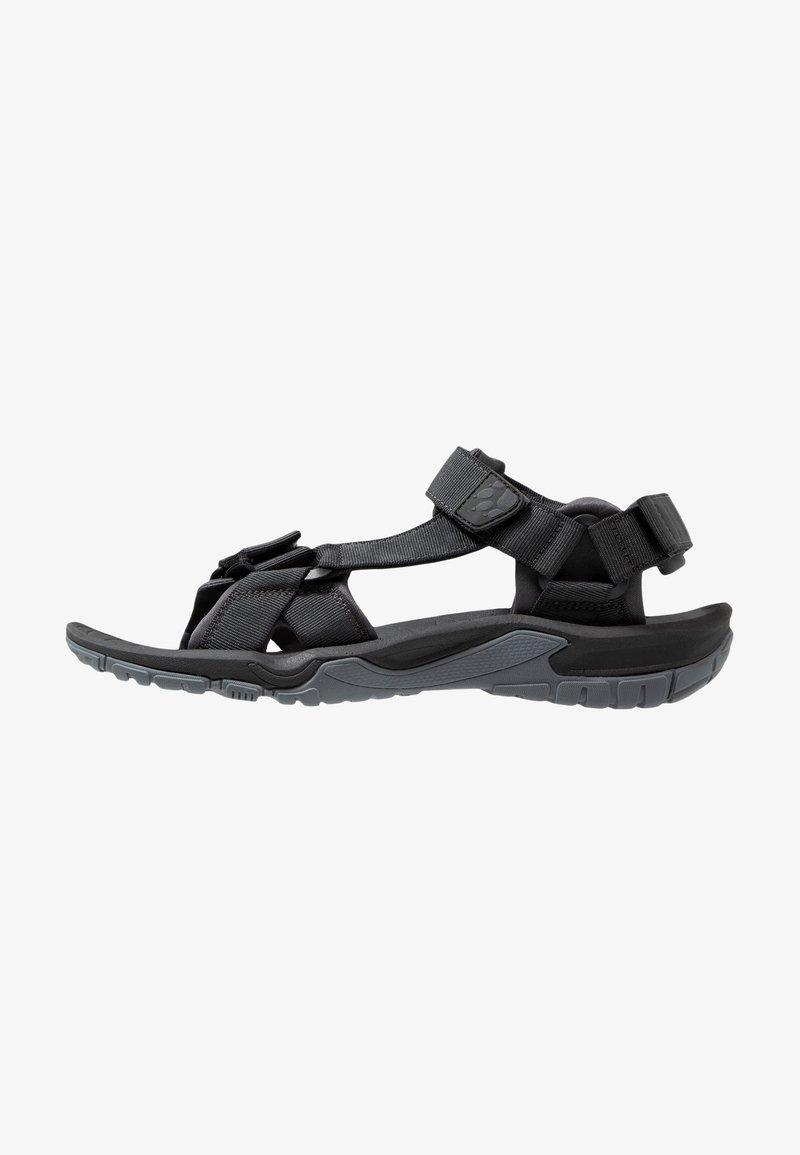 Jack Wolfskin - LAKEWOOD RIDE - Walking sandals - ebony