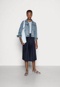 Esprit - A-line skirt - navy - 1