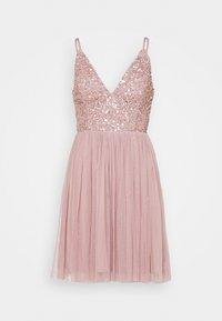 Lace & Beads - AVA SKATER - Sukienka koktajlowa - dusty pink - 3