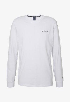 LONG SLEEVE - Bluzka z długim rękawem - white