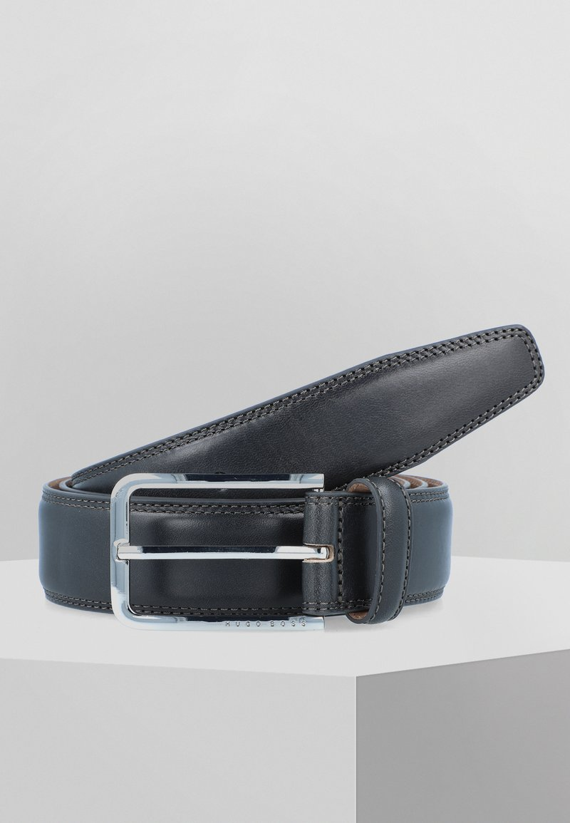 BOSS - CALIS - Belt - dark grey