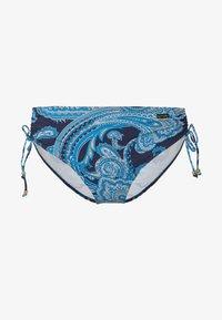 LASCANA - ADJUST BOHO - Bikini bottoms - navy - 3