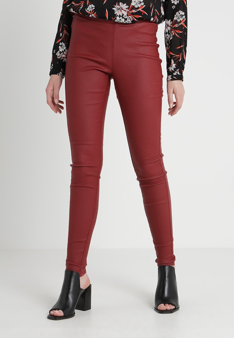 Women ADA COATED - Leggings - Trousers