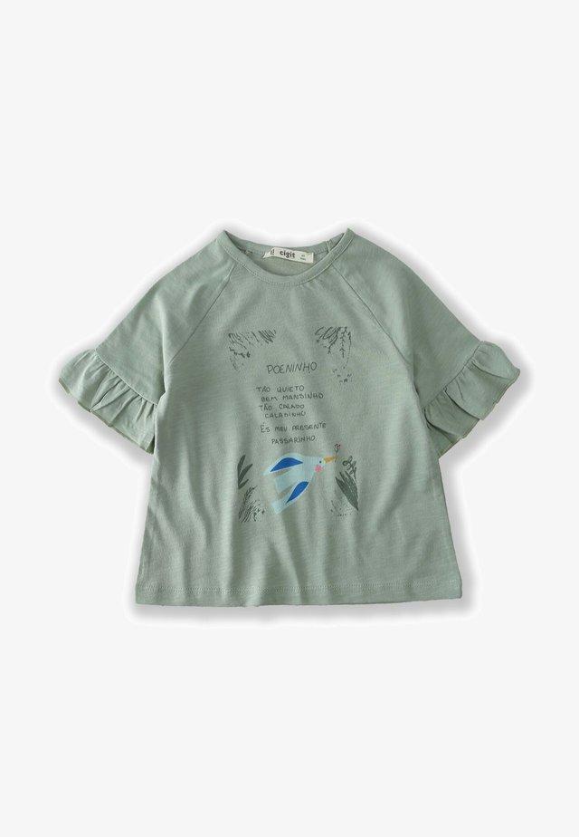 BIRD - T-shirt con stampa - green