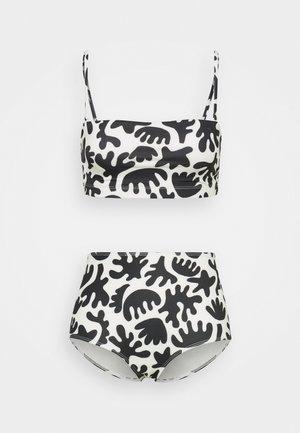 BECKY BANDEAU NILLA  - Bikini - black/white