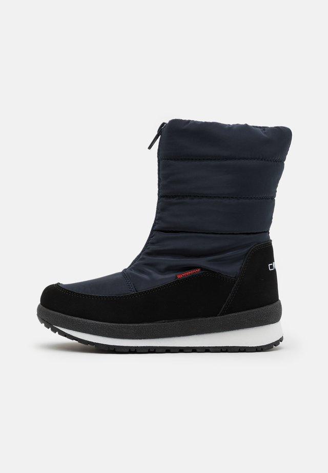 KIDS RAE WP UNISEX - Bottes de neige - black blue