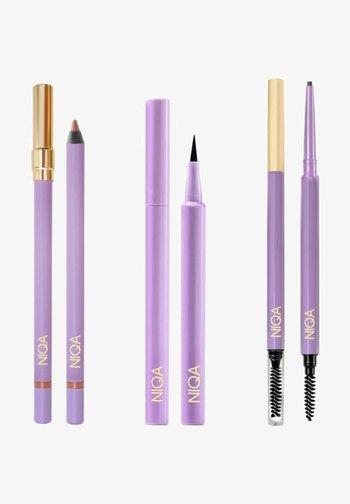 NIQA LEGENDARY SET - Makeup set - schwarz