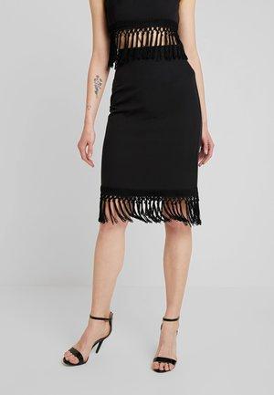 OSCAR SKIRT - Pencil skirt - black