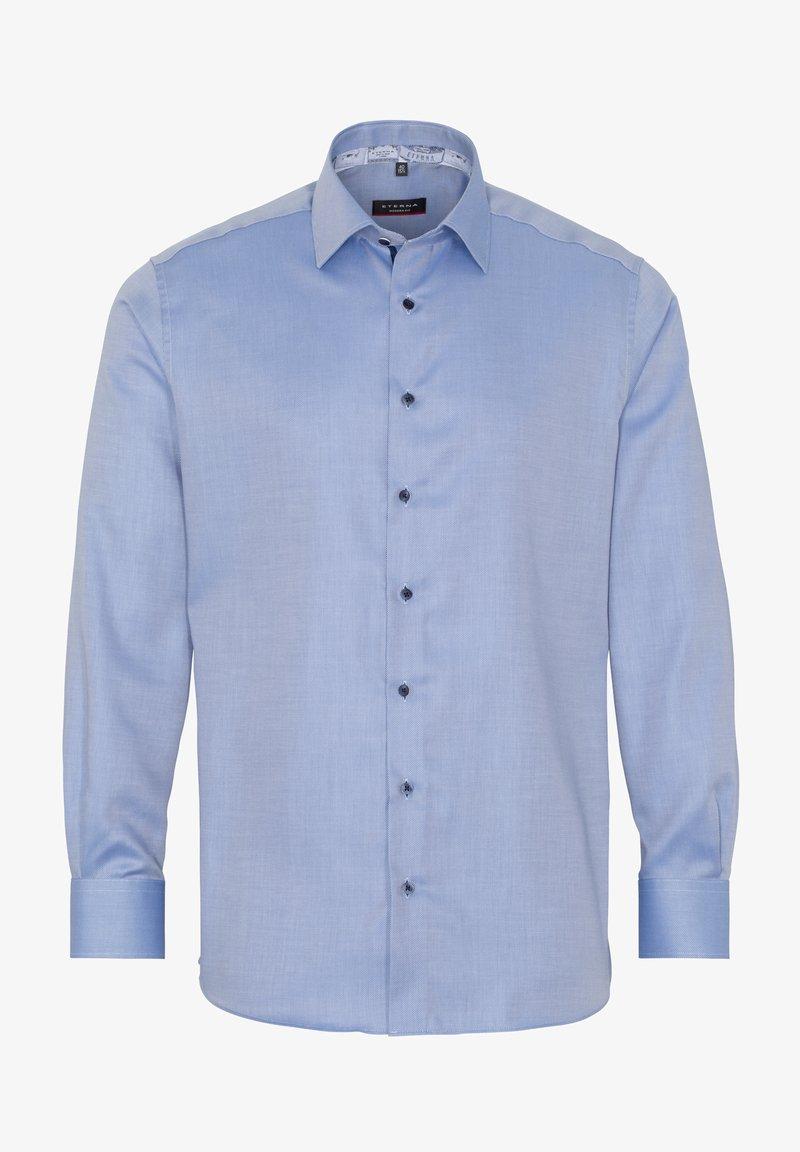 Eterna MODERN FIT - Businesshemd - jeansblau/blue denim Nd3iLc