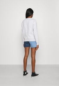 Tommy Jeans - TIMELESS FLAG - Sweatshirt - silver grey - 2