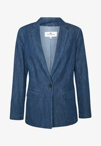 TOM TAILOR - Veste en jean - dark stone wash denim/blue - 4