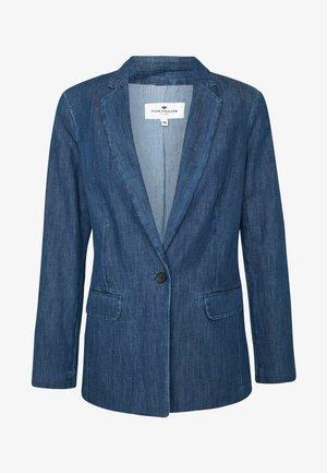 Denim jacket - dark stone wash denim/blue