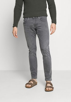 Slim fit jeans - grey medium wash