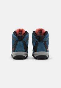 Hi-Tec - STORM WP WOMENS - Hiking shoes - blue/light blue/coral - 2