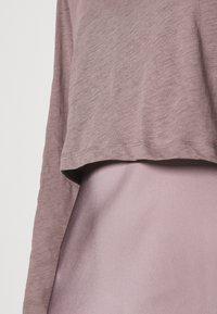 AllSaints - BENNO TEE DRESS SET - Long sleeved top - taupe - 5