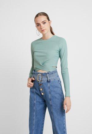 Langarmshirt - light khaki
