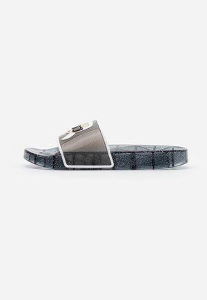 KONDO KLEAR IKONIC SLIDE - Pantofle - black
