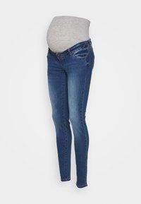 MAMALICIOUS - MLFLORIDA SLIM JEANS  - Slim fit jeans - medium blue - 0