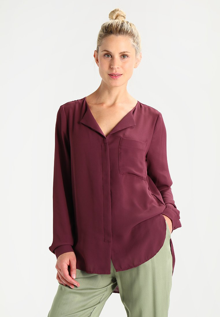 Selected Femme - SFDYNELLA - Blouse - mauve wine